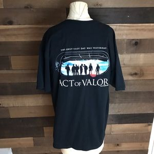 Act of valor 5.11 tactical men's t shirt size Xl